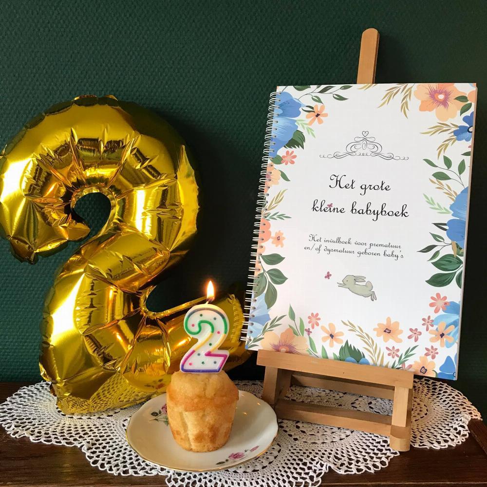 Hiep hiep hoera! Het grote kleine babyboek is 2 jaar!!