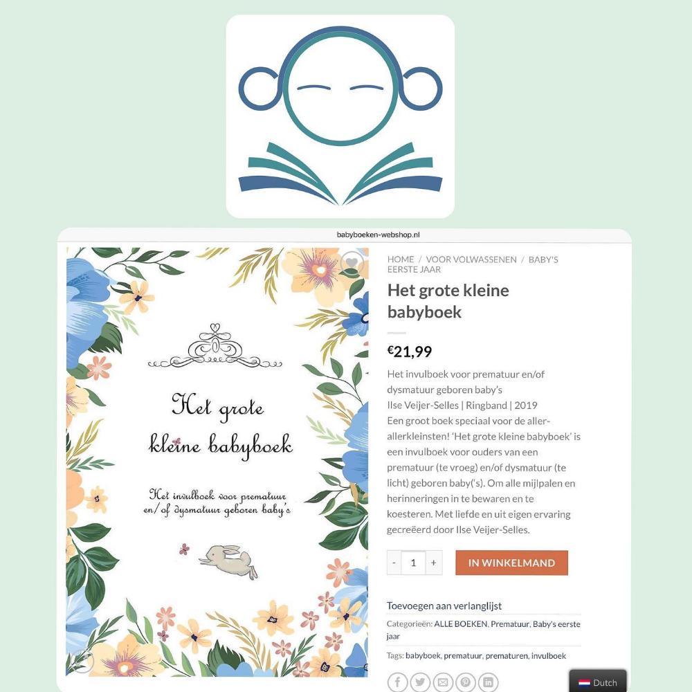Mijn babyboek in de Babyboeken-webshop